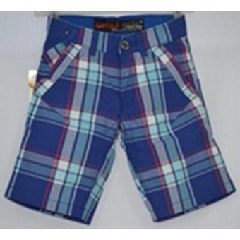 BCS2518 GARFIELD BOY CHECKERED SHORT