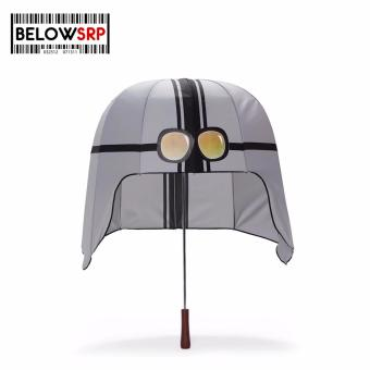 Below SRP Helmet Umbrella (Gray)