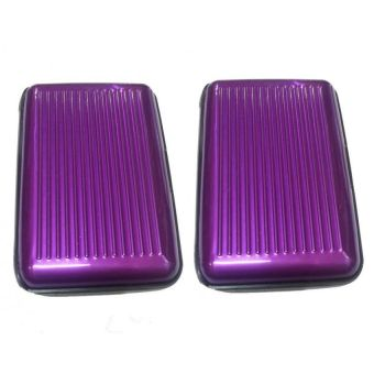 Below SRP Security ATM Credit Card Wallet Set of 2 ( Violet )