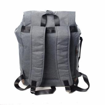 BENCH- BGK0696GY3 Men's Knapsack Bag (Grey) - 3