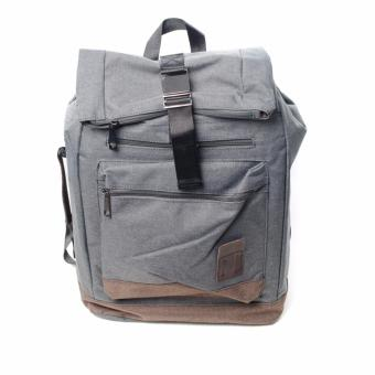BENCH- BGK0696GY3 Men's Knapsack Bag (Grey)