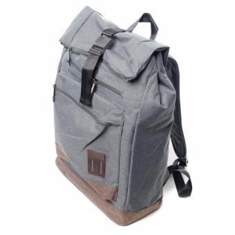 BENCH- BGK0696GY3 Men's Knapsack Bag (Grey) - 2
