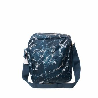 BENCH- BGM0601BU3 Printed Sling Bag (Blue) - 3