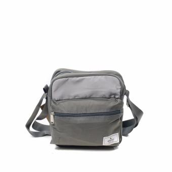BENCH- BGM0636GYGY Men's Medium Sling Bag (Gray)
