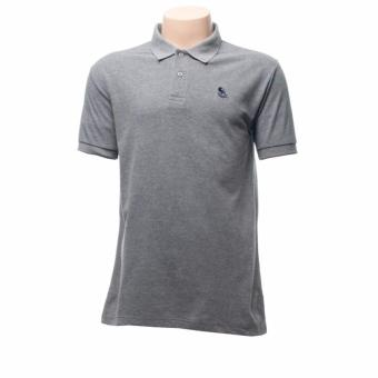 BENCH- BIA0043GY2 Polo Shirt with Emblem (Twisted Gray)