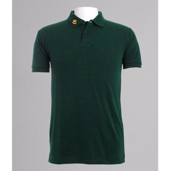 BENCH- BIX0242GR4 Solid Polo Shirt (Green)