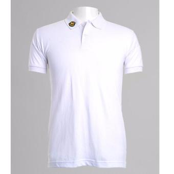 BENCH- BIX0242WH3 Solid Polo Shirt (White) - 3