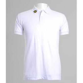 BENCH- BIX0242WH3 Solid Polo Shirt (White) - 4