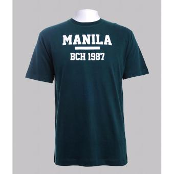 BENCH- BOP0358MG4 Pinoy Lab Statement Tee (Military Green) Price Philippines