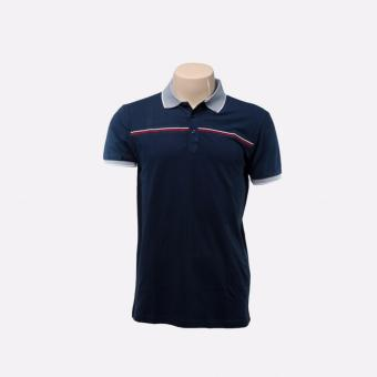 BENCH- BTC3847BU4 Men's Polo Shirt (Dark Blue)