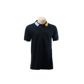 BENCH- BTC3863BK3 Plain Polo Shirt (Black)