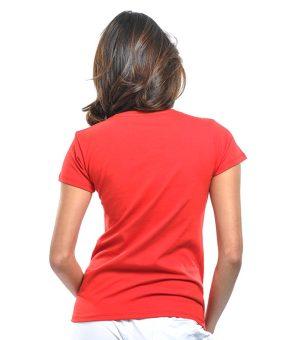Bench Ladies Undershirt (Red) - 3