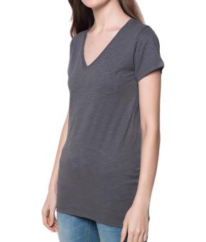Bench V Neck Ladies Undershirt (Grey) - 2