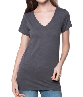 Bench V Neck Ladies Undershirt (Grey) Price Philippines