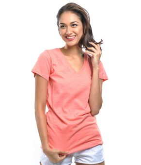 Bench V Neck Ladies Undershirt (Light Pink) Price Philippines