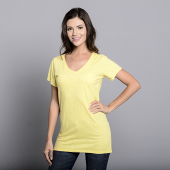 Bench V Neck Ladies Undershirt (Yellow) Price Philippines