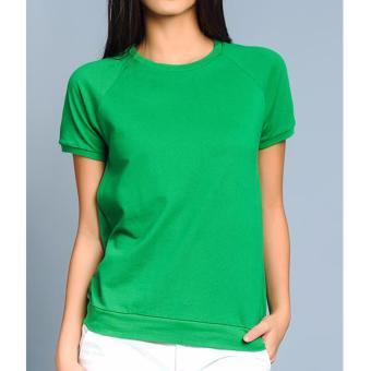 BENCH-YFS1164GR3 Ladies Plain Tee (Green)