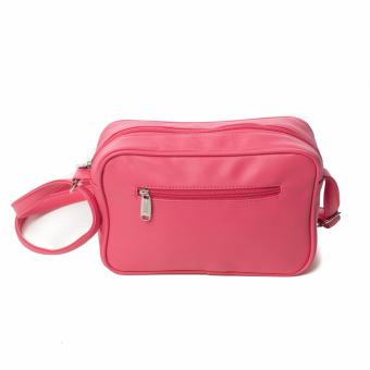 BENCH- YGS0379FU3 Ladies Sling Bag (Pink) - 3