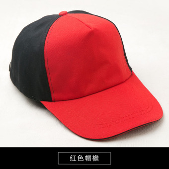 Beret hotel chef work service the headscarf hat (Black Hong brimmed duckbill hat)