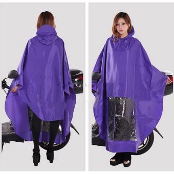 Better Goods High quality oxford fabric raincoat for motorcycleriders motorcycle riders men raincoat for heavy rain Pvc waterproofraincoat Cm-28 (PURPLE) - 2