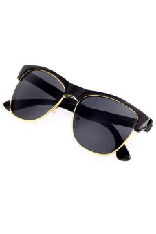 Big Lens Sunglass (Black)