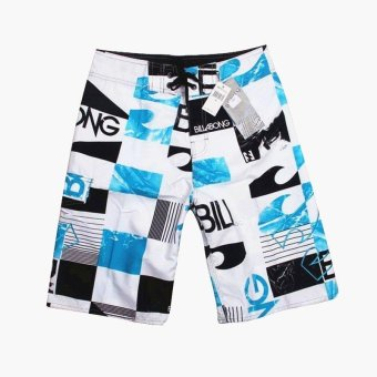 Billabong Men's New Fashion Boardshorts Quick-drying Fabric Beach Shorts With Drawcord Surfing Shorts - intl