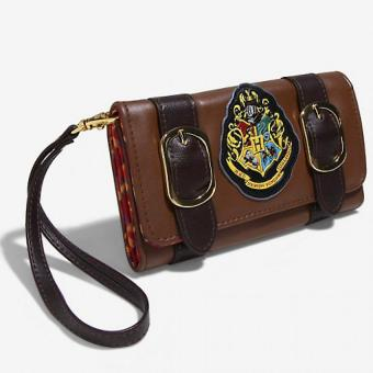 Bioworld Harry Potter Satchel Wristlet Clutch Wallet