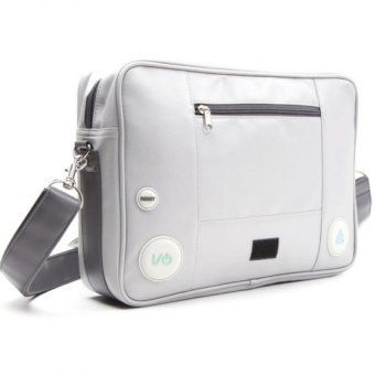 Bioworld Sony Playstation Console Shaped Messenger Bag - 5