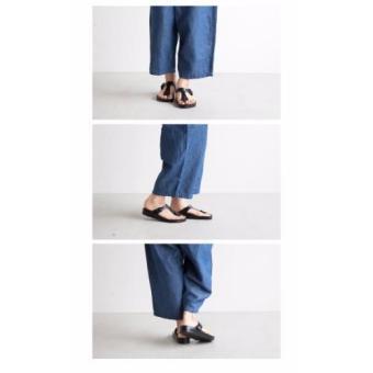 Birkenstock Gizeh Eva Flat Slippers (Black) - 5