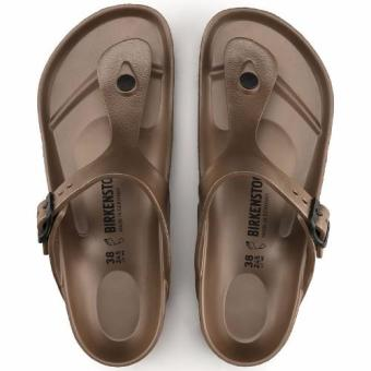 Birkenstock Gizeh Eva Flat Slippers (Copper) - 5