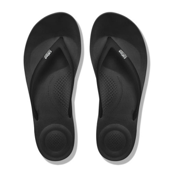 Black non-slip flat heel for men and women to lose weight shoes sandals slippers (Black)