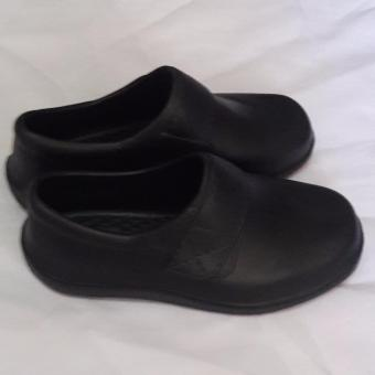 Black Shoes for Kids Water Proof Light Weight No need to shine size 34' - 2