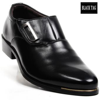 Black Tag Owen 58-5 Formal Leather Shoes for Men (Black) Price Philippines