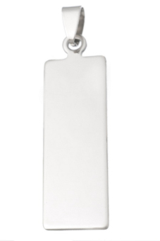 Blank Pendants B85846 Pale Silver - picture 2