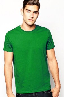 BLKSHP SLIM-FIT 100% Cotton T-Shirt (Fern Green)