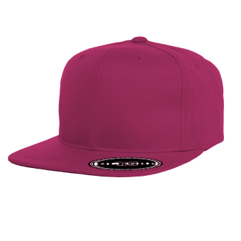 BLKSHP Solid Blank Plain Snapback (Heliconia)