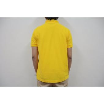 Blue Corner Men's Plain Polo Shirt (Blue) - 3