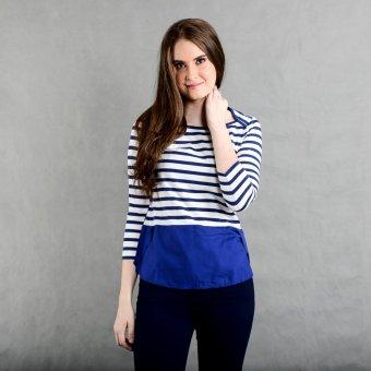 Blued Amyleah Aa-13 Ladies' Tee (Blue Print)