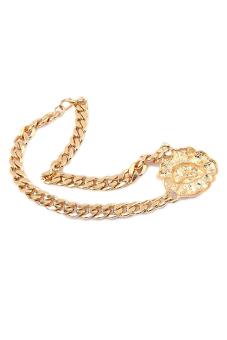 Bluelans Lion Head Necklace (Gold) - picture 2