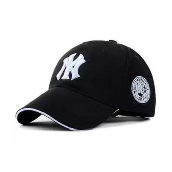 BMSO-116 Yankees Hip Hop Baseball Caps NY Hats Unisex Casual Hat Black - intl