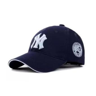 BMSO-117 Yankees Hip Hop Baseball Caps NY Hats Unisex Casual Hat Navy - intl Price Philippines
