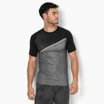 Bo Athletics Asymmetrical Mens Performance Top (Black)