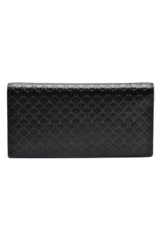 Borenyas BY-004-3 Long Wallet Clutch (Black) - picture 2