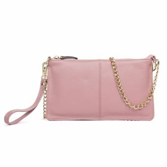 BOSTANTEN High Capacity Fashion Women Wallets Long Genuine LeatherWallet Female Zipper Clutch Coin Purse Cell Phone Wristlet - intl