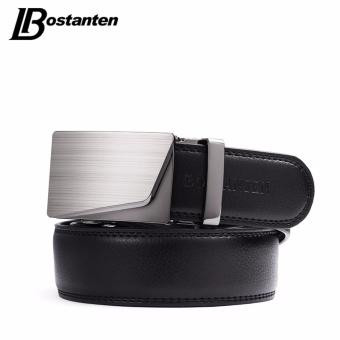 Bostanten Men's Genuine Cow Leather Belts Black With A Gift Box - intl - 3
