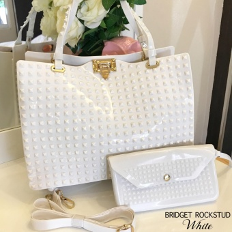 Bridget Rockstud with Wallet Super Sale (White)