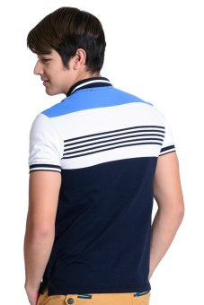 Brit London Polo Shirt (Blue/White) - picture 2