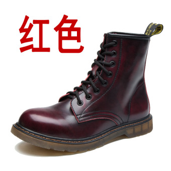 British Leather New style men's boots Dr. Martens (Red)