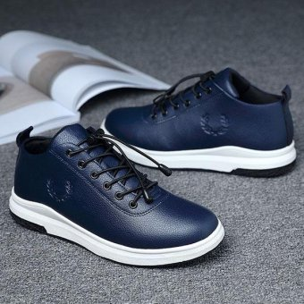 British Wind Fashion Sneakers For mens(BLUE) - intl Price Philippines