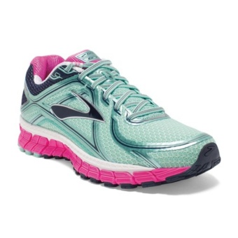 Brooks Adrenaline Gts 16 Women's Running Shoes B418 Green/ Pink Price Philippines
